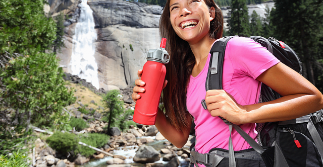 Save Money, Reduce Litter With Portable Water Purifier